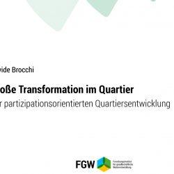 """Studie """"Große Transformation im Quartier"""""""